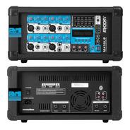 Consola Potenciada Moon 410 Up Usb Bluetooth 4 Canales