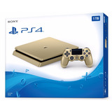 Playstation 4 Slim Gold Ps4 1tb Nuevo Garantia