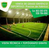 Grass Sintético Deportivo- Para Canchas De Futbol 97045830