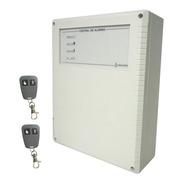 Central Alarma Inalambrica 6002w X28 Alarmas 2 Controles Remotos