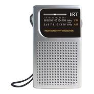 Receptor Radio Fm Am Irt Bateria Antena Pilas Bolsillo