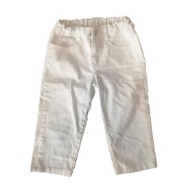 Pantalón Blanco Gymboree Talla 5 Niña