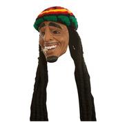 Máscara De Látex Stoned Hombre Hippie Reggae Style