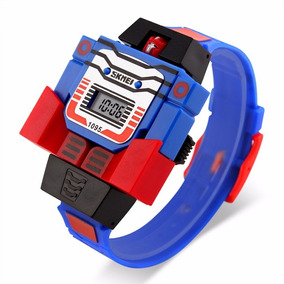 Reloj Transformers Envio Gratis Optimus Prime Robot Formers