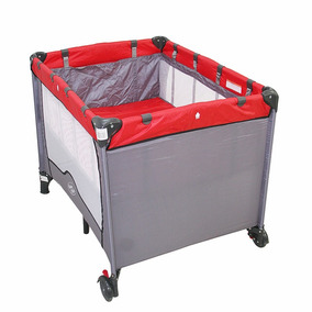 Berço Bebê Cercado Desmontavél C/regulagem Compacto Baby