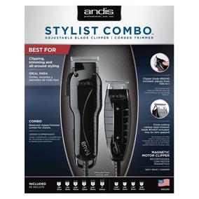 Maquina De Corte Andis Stylist Combo Prof Clipeer/trimmer