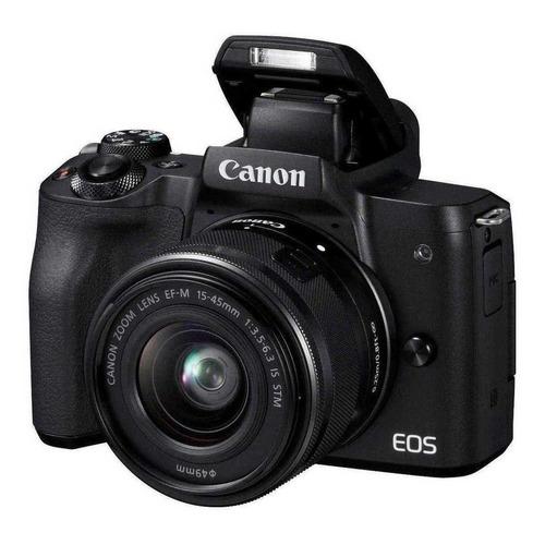 Canon EOS M50 15-45mm IS STM Kit sin espejo color negro