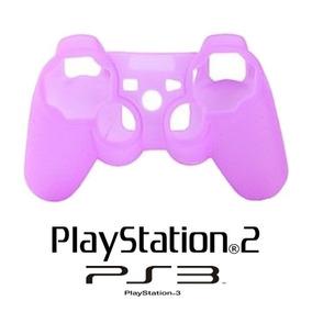 Capa Case De Controle Console Vídeo Game Ps2 Ps3 Silicone