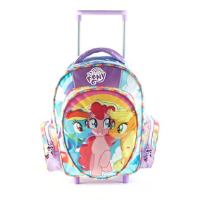 Educando Mochila Carro 16 Pulg My Little Pony Reforzada Esco