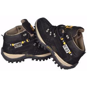 Boot Bota Adventure Catepillar Original Preta + Promoção.