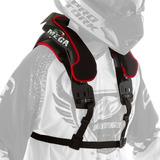 Protetor De Pescoço Omega Neck Brace Preto Motocross Trilha