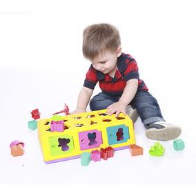 Brinquedo Caixa Encaixa - Estrela Frete Grátis