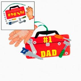 12pz Caja Herramientas Para Dia Del Padre Didáctico Escuelas