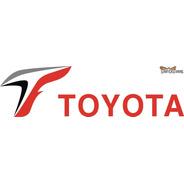 Calcomanía Toyota F1 30 X 8 Cm - Calcos Graficastuning
