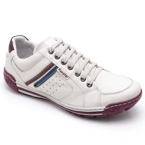 Sapato Sapatenis Masculino Casual Couro Estilo Pegada Leve 37ddcfd72ed