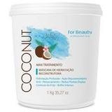 Mascara Tratamento Óleo Coco Coconut Oil For Beauty 250gr