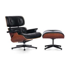 Poltrona Design Charles Eames Apoio Para Pés