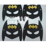 Mascara Antifaz De Batman Goma Eva