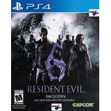 Resident Evil 6 Ps4 | Digital Español Juga Con Tu Usuario!