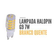 Lampada De Led Halopin G9 7w Branco Quente Bivolt