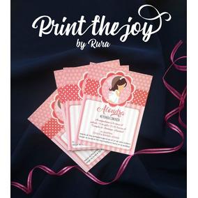 30 Invitaciones Para Niña Primera Comunion Rosa
