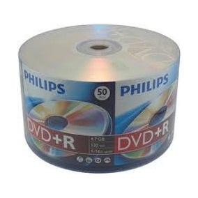 300 Dvd+r Philips 16x Logo 4.7gb