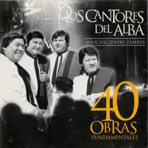Los Cantores Del Alba -40 Obras Fundamentales Cd Doble Nuevo