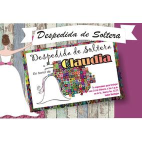 Invitación Imprimible Despedida De Soltera