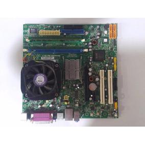 Placa Mae Lenovo L-i945gc + Processador + Cooler + Memória