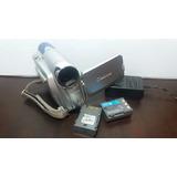 Filmadora Canon Mini Dv Zr 800 Entrada De Microfone Externo