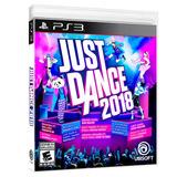 Juego Para Playstation 3 Just Dance 2018