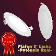 Luminaria Plafon Led 25w Embutir - Bivolt Redonda