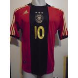 Camiseta Selección Alemania 2009 2010 Ozil #10 T. M - L