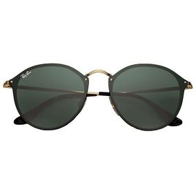 Oculos Ray Ban Redondo Espelhado Verde - Óculos De Sol no Mercado ... 42395c82bb