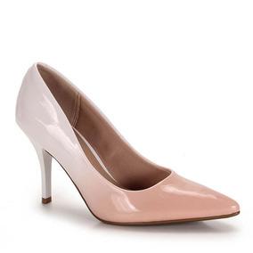 Sapato Scarpin Conforto Feminino Beira Rio - Rosa