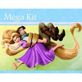 Kit Imprimible Pelicula Enredados Rapunzel, Invitaciones
