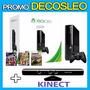 Xbox 360 250gb +kinect +juegos Orig+3 Joystick +12 Gtia Leo