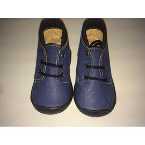 Zapato / Botín Casual Infantil Para Bebe O Niño Color Azul