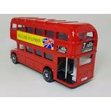 Bus Ingles Alcancia En Escala Regalos Souvenirs