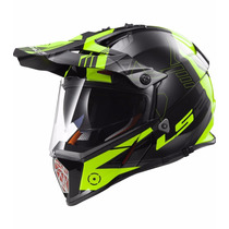 Casco Ls2 Mx436 Pioneer Cross Con Visor Doble Devotobikes
