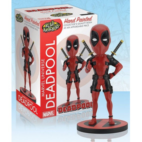 Marvel Head Knocker Deadpool Classic Resin - Neca