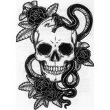 10 Tatuagens Temporárias * Frete Grátis - Tatuagem Fake R353