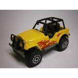 Matchbox Jeep 4x4 Amarillo