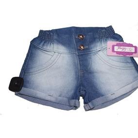 Shorts,bermuda Jeans Infantil Menina Barato