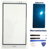 Huawei Mate 8 Cristal Glass Touch Blanco Gorilla + Kit