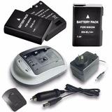 2 Baterías En El14 Para Nikon D3500 D5600 + Cargador + Envío