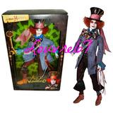 Barbie Mad Hatter Alice In Wonderland Johnny Depp Coleccion