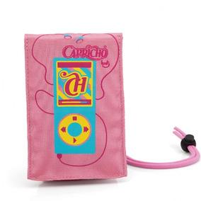 Capa Porta Celular Capricho Rosa Ipod