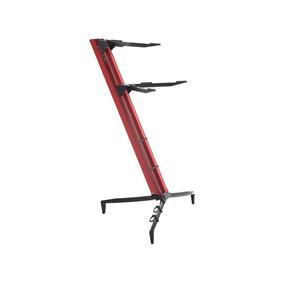 Suporte Stay Torre Aluminio Vermelho 2 Teclado 1300/2 Dinhos