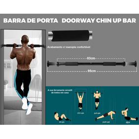 Barra De Porta - Barra De Exercício P/ Porta